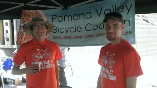 Pomona Valley Bicycle Coalition volunteers