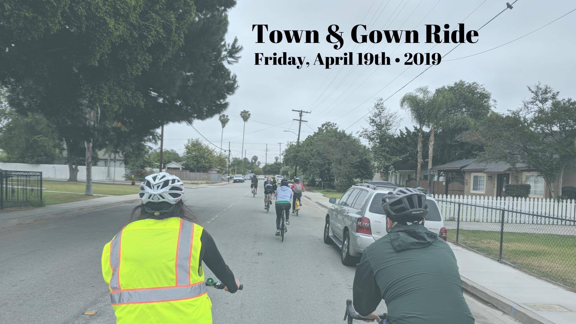 bike ride flyer