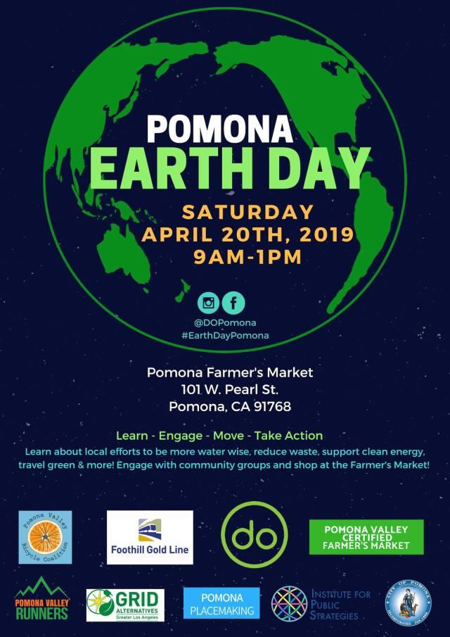 Pomona Earth Day flyer