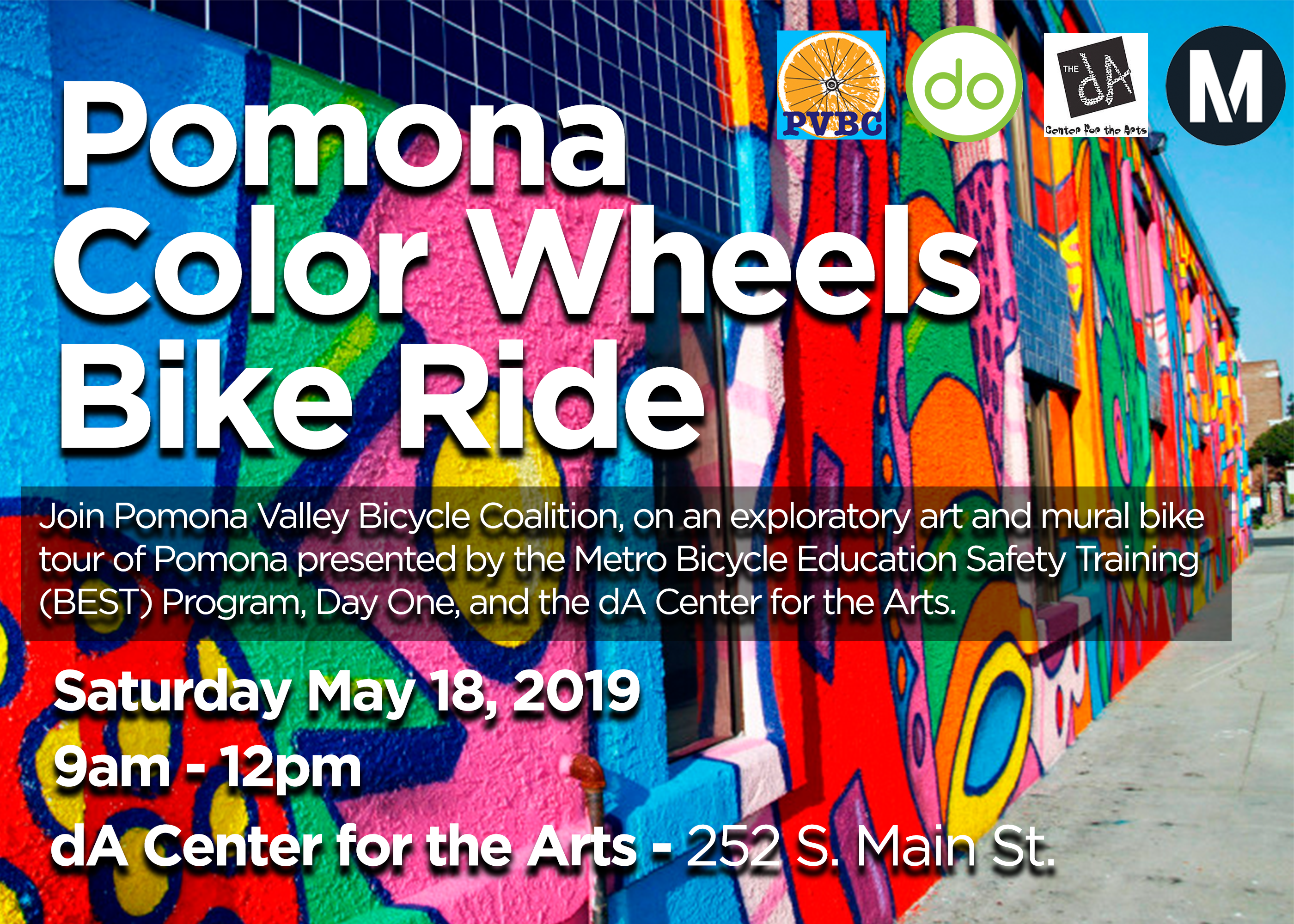 Pomona Color Wheels Bike Ride